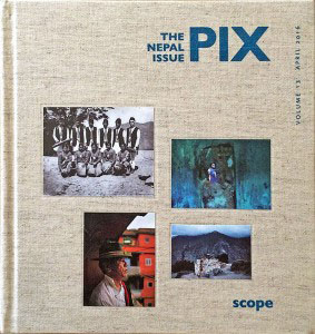 Couverture de la Revue Pix, The Nepal Issue