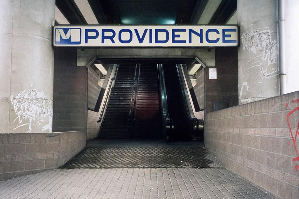 Station de métro 'Providence', Rue de la Providence, Charleroi, Province de Hainaut, juillet 2010