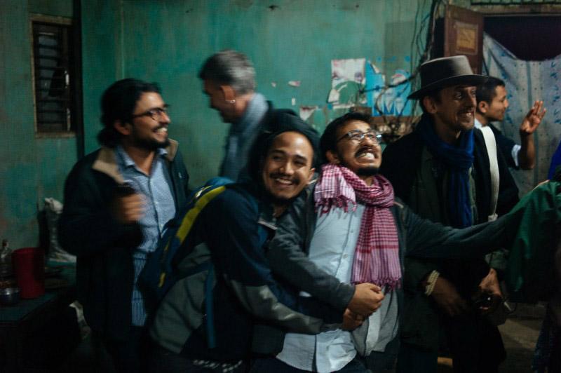 Shikhar Bhattarai, Søren Pagter, Nishant Shilpakar, Prasiit Sthapit, Philip Blenkinsop and Bhushan Shilpakar