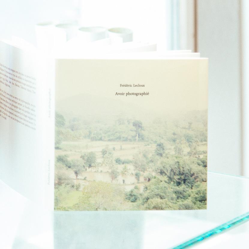 Avoir photographié, livre leporello fait main, numéroté