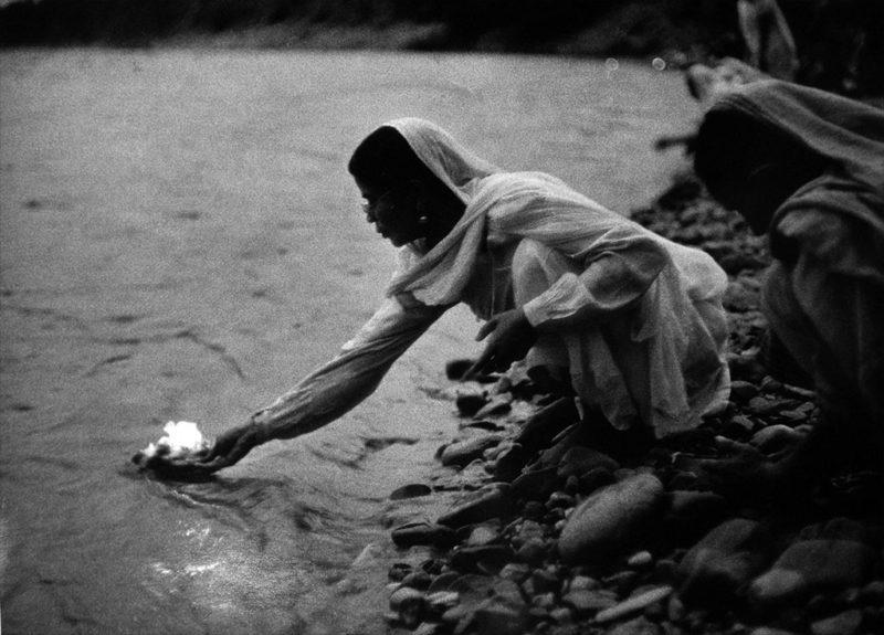 Denis Brihat, Offrande au Gange, 1955