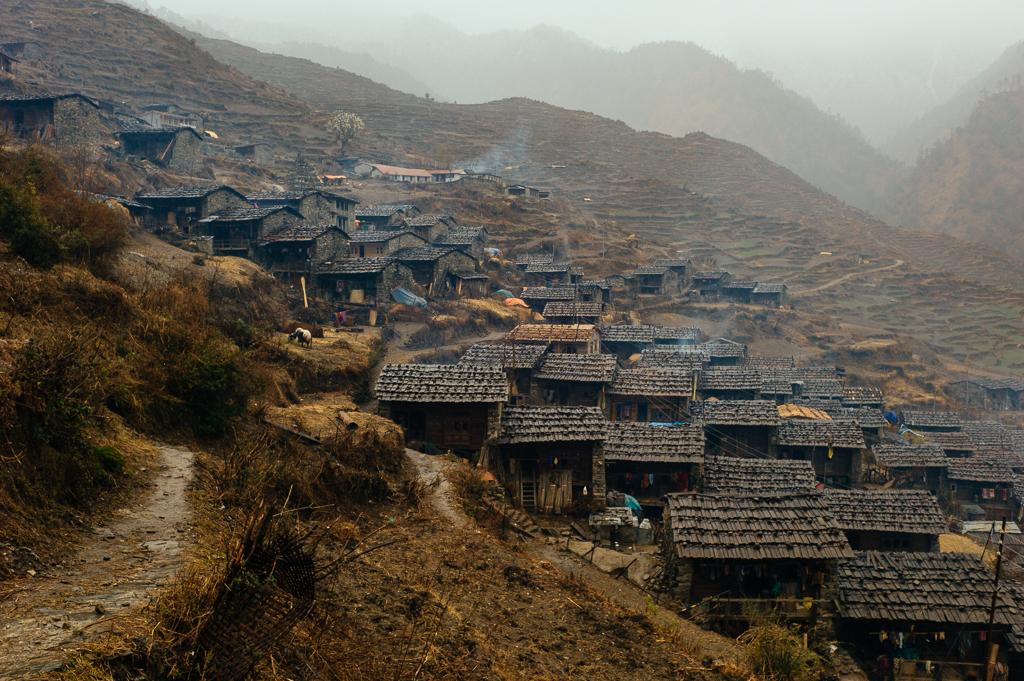 Gatlang, district de Rasuwa, Népal, 5 février 2013, série Épiphanies du quotidien